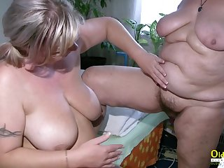 Video is picturing two horny wild older ladies going too horny